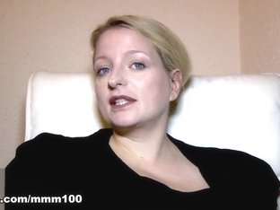 Carola in Video Interview Porno With Carola  - MMM100