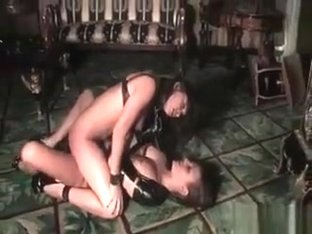 Two Hot Black Leather Horny Nasty Sexy