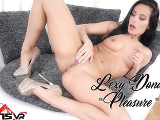 Hot Aida Sweet Pushes Her Panties To The Side To Get Fucked
