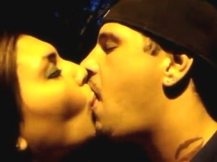 Cali Jock & GF in Extreme Tongue Kissing Audition