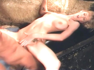 Sexy breasty Brooke Banner is blowing a cock