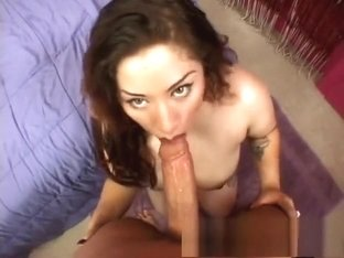Plump Latina with a massive booty bounces on a hard cock with passion