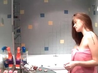 Real - Brunette in Shower