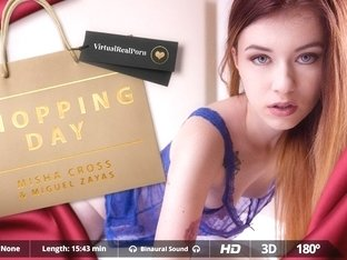 Miguel Zayas  Misha Cross in Shopping day - VirtualRealPorn