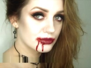 halloween makeup tutorial sexy vampire