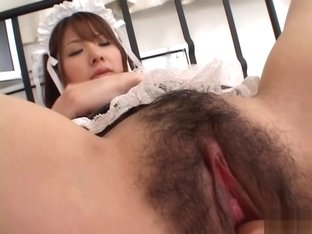 Ai Uemura Asian model gets finger penetration
