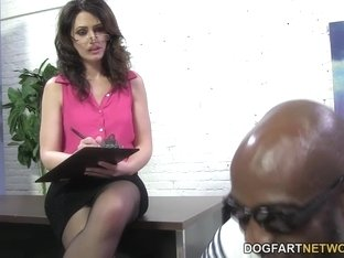 Sarah Shevon loves anal sex with big black cock