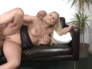 Sexy towheaded Czech Angel Wicky was hardly drilled