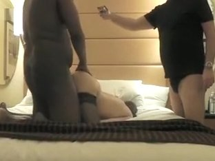 Slut wife fucked many ways by her first BBC