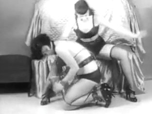 Vintage Stripper Film - B Page Sorority Girl