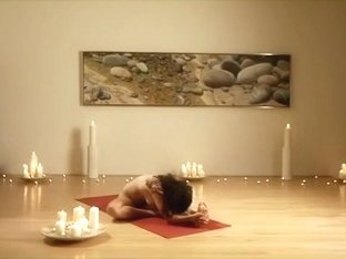 Nude Art Performers Yoga