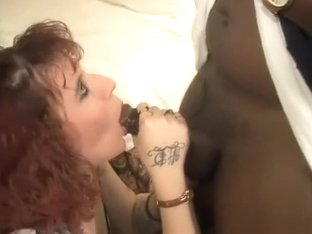 Redhead having Fun in hotel room with BBC Lover