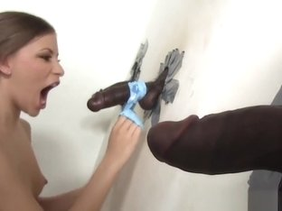 Avril Sun fucking two BBC's at the gloryhole