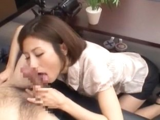 Crazy Japanese model Akari Asahina in Hottest Secretary, Small Tits JAV scene