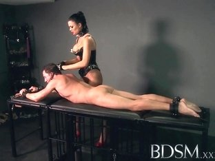 BDSM XXX Subs are slapped up and fucked