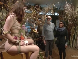 Young Slut Comes Into Full Bloom in City of Public Nudity