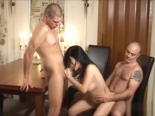 Danish Bini in a Threesome - Free Doggy Style HD Porn