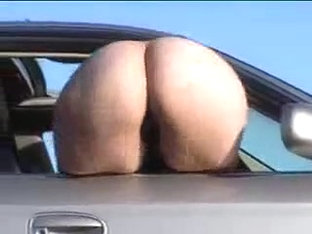 Mooning out of the car