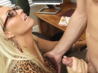 Charlee Chase educates her students only by fondling methods
