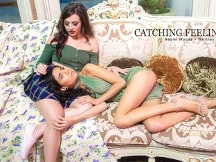 Naomi Woods & Whitney Wright in Catching Feelings - Babes