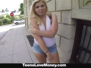 TeensLoveMoney - Model Wannabe Fucked Hard For Cash