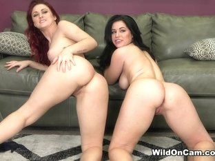 Belle Noire & Karlie Montana in Karlie and Belle Noire Fucking - WildOnCam