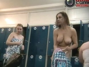 Ugly aged wives caught on a spy changing room cam nude video