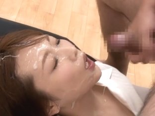 Hottest Japanese chick in Best Facial, Cougar JAV scene