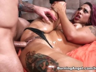Amazing pornstars Joanna Angel, Veronica Rose in Best Hardcore, Anal sex movie