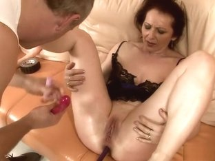 Slutty mature Debra has a horny stud taking care of her sexual urges