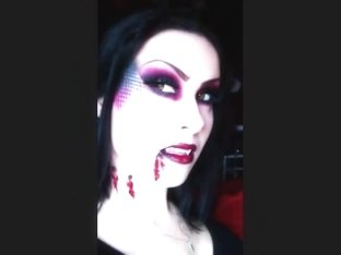 sexy vampire halloween makeup tutorial