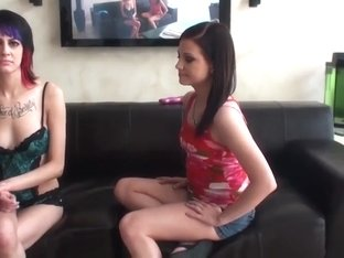 Teen sex video featuring Brandi Belle and Stacey Sexton