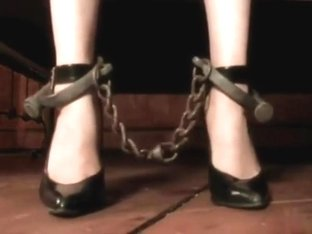 Chastity belted slave