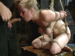 Penny Pax & Mark Davis in Innocent Penny Pax Faced Fucked By Mark Davis In Extreme Bondage - HogTi.