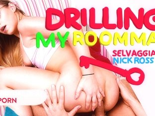 Nick Ross & Selvaggia Babe in Drilling my roommate - VirtualRealPorn