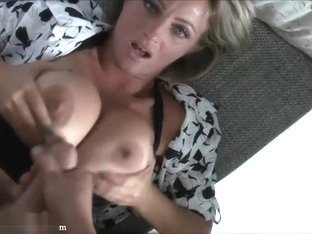 Super hot german MILF with b...