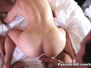 Carmen Monet & Anikka Albrite in Real Friends Share - Passion-HD Video