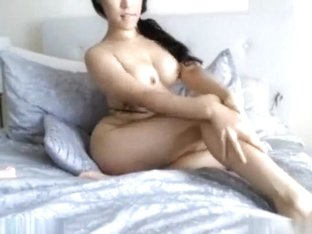 Incredible Webcam movie with Asian, Masturbation scenes