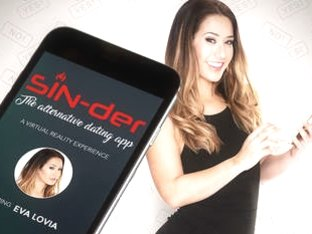 SIN-der - the alternative dating app starring Eva Lovia