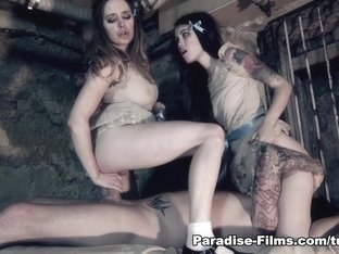 Exotic pornstars Samantha Bentley, Misha Cross in Crazy Fetish, European porn video