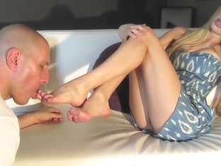 Intense Foot Worship