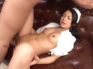Crazy Japanese chick Chihiro Aoi in Horny Medical, Close-up JAV movie
