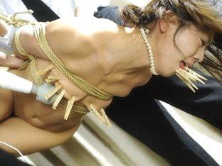 Dirty Minded Housewife, Aoi Wajo Likes To Mix Pain And Pleasure - AsiansBondage
