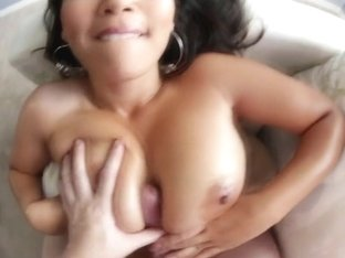 Asians titties cumshot