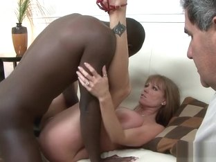 Busty milf IR pounded while hubby watches