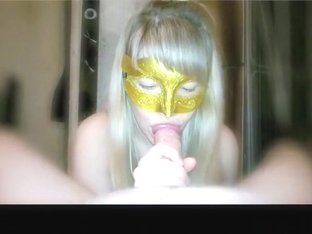 Exotic private ponytail, asian, cumshot sex scene