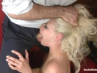 The Accident: Blonde Bombshell Manhandled and Mercilessly Fucked!
