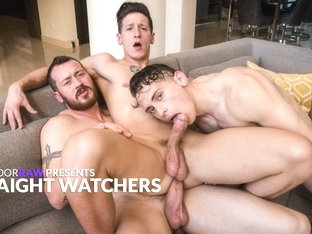 Mark Long & Dante Martin & Dalton Riley in Straight Watchers - NextDoorStudios