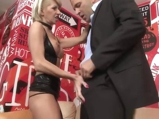Stockinged Babe Rides Before Ass To Mouth