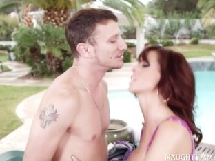 Syren De Mer & Mr. Pete in My Friends Hot Mom